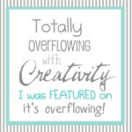 It's overflowing